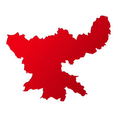 झारखंड Map