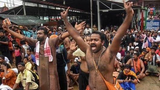 केरल में विपक्षी दलों ने किया बंद का आह्वान