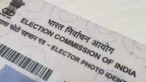 Now getting color voter id card