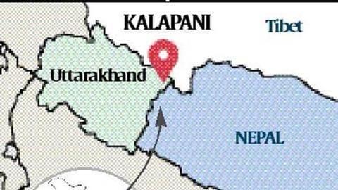 भारत के नए नक्शे पर विवाद, नेपाली ...