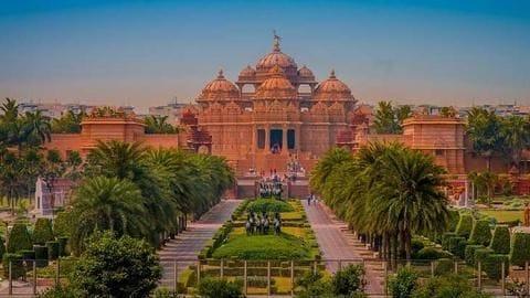 मंदिर विशेष: यहां जानें दिल्ली के अक्षरधाम मंदिर से संबंधित सारी बातें