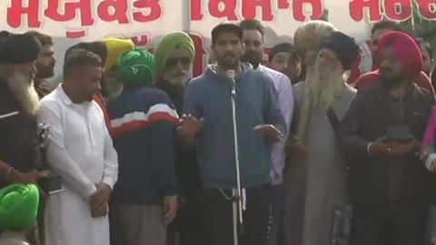 Vijendra Singh reached the Singhu border in support of farmers