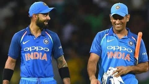 Three Indian players included in 'ODI Player of the Decade'