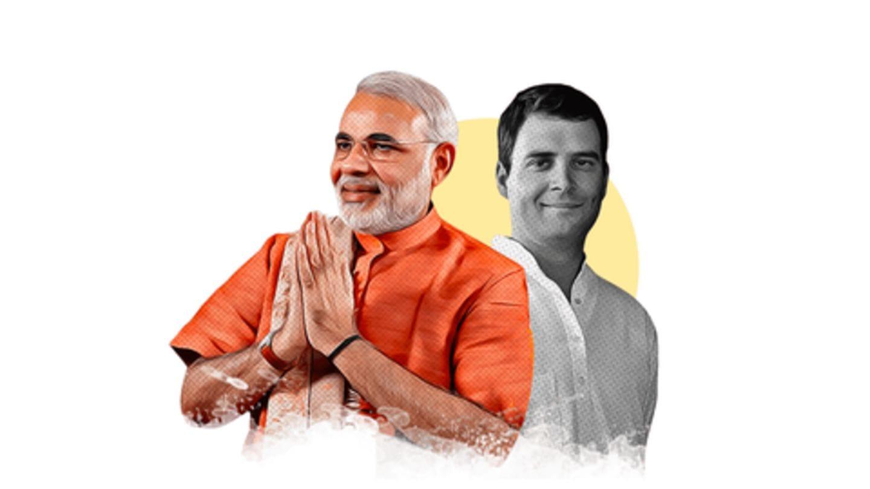 पांच राज्यों के रूझान, छत्तीसगढ़ और राजस्थान में कांग्रेस बहुमत की ओर, मध्यप्रदेश में कड़ी टक्कर