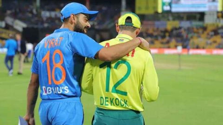 कोरोना वायरस: IPL स्थगित होने के बाद अब भारत बनाम दक्षिण अफ्रीका के दोनों वनडे रद्द