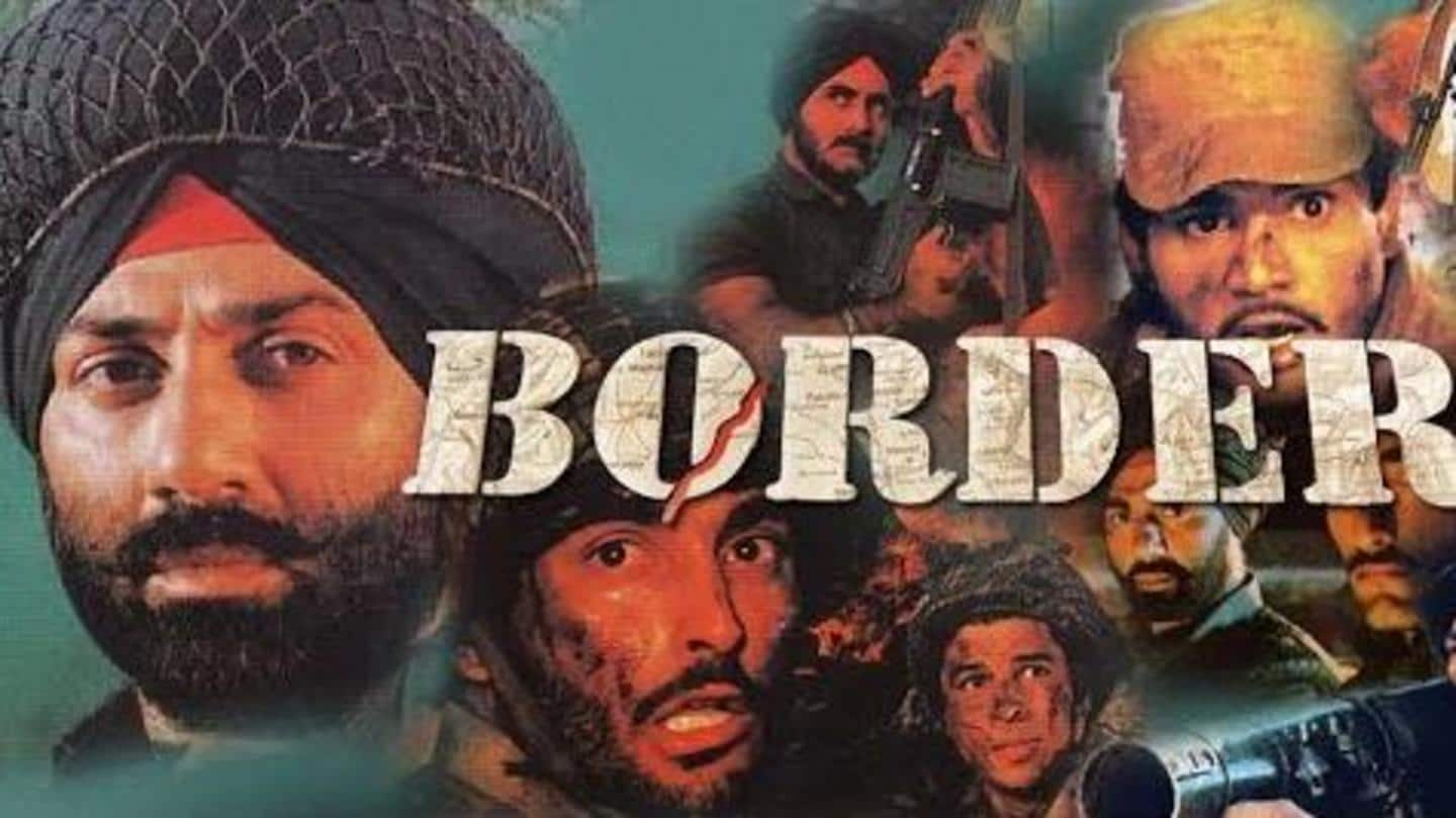 The film 'Border' is based on the 1971 India-Pakistan war