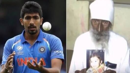Bumrah's grandfather found dead
