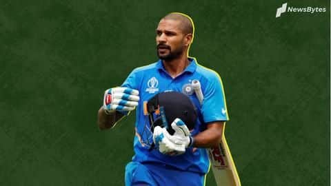 India-WI T20Is: Dhawan ruled out, Samson named his replacement
