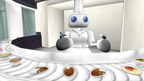 Food gets a robotic make-over