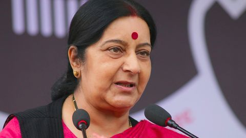 Meira appeals for conscience, Swaraj hits with blast from past