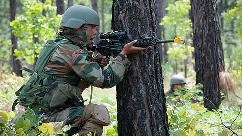 3 terrorists shot down near Tral (J&K), 1 in hiding