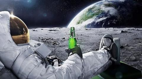 Why astronauts can't get drunk in space?