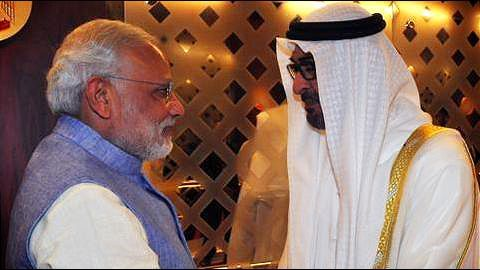 India cementing trade with its Gulf friend UAE