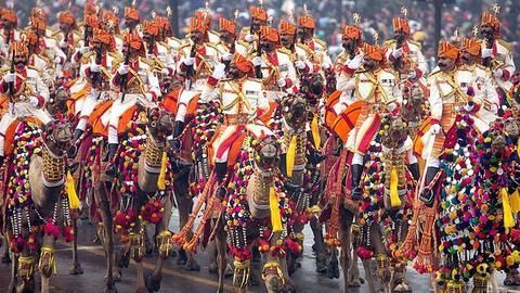 Spectacular display of Indian culture at Republic Day