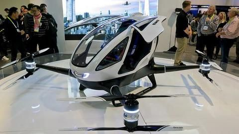 Passenger drones become a reality