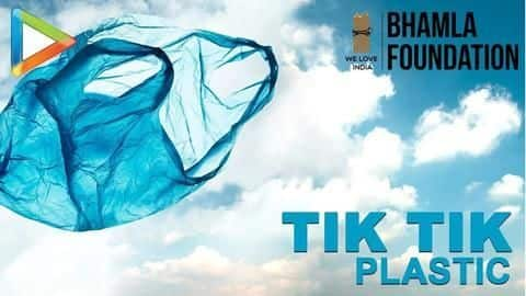 Anti-plastic song by Kirkire, Shaan screened at the United Nations