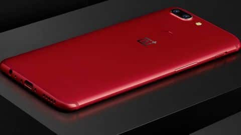 OnePlus 5T Lava Red edition available for Rs. 37,999