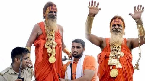 Kanwar Yatra: 'Golden Baba' back with gold, more fancy cars