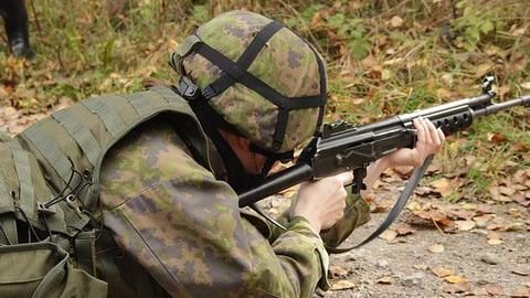 Indian Army soldier flees with AK-47 rifle, search ops underway