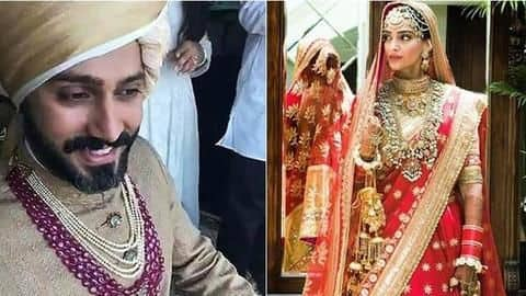Sonam Kapoor weds Anand Ahuja in an intimate ceremony