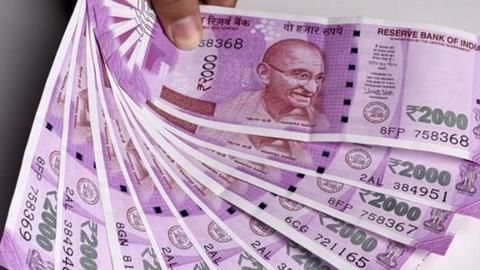 Where are the Rs. 2000 notes?