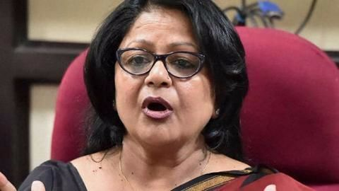 Barkha Shukla joins BJP after expulsion from Congress