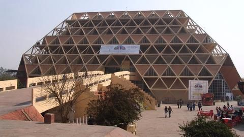 Outrage after Pragati Maidan's Hall of Nations demolished