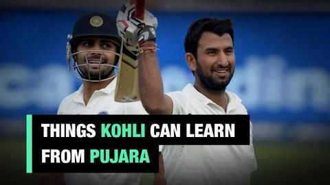 What can Kohli learn from Pujara?