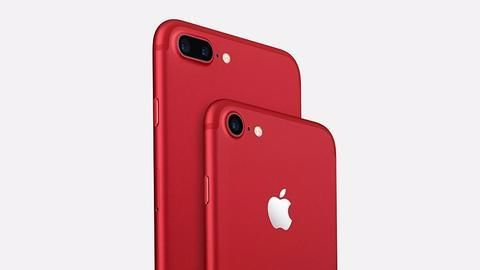 A red iPhone is here and it's not a prank