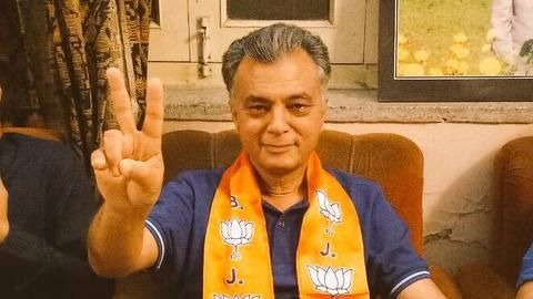Before polls, Himachal minister Anil Sharma ditches Congress for BJP