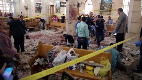 Attack on bus carrying Coptic Christians in Egypt kills 26