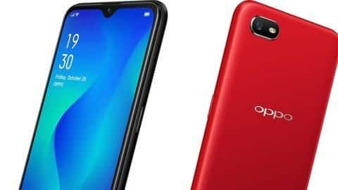 OPPO A1k, with 4,000mAh battery, goes on sale in India