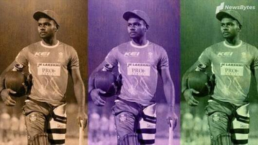 Sanju Samson smashes List A double century
