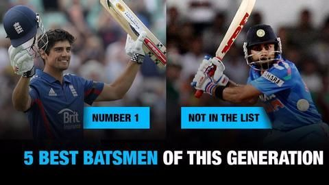 Who are the best batsmen of this generation?