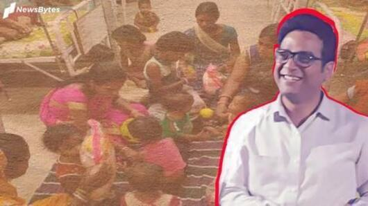 IAS officer sacrifices own ACs for malnourished children