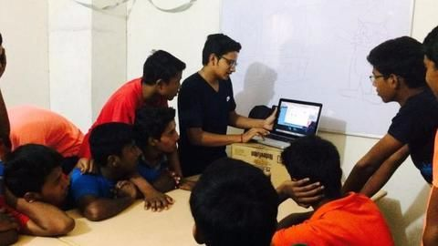 Indian teen uses MIT's tool to teach coding to orphans