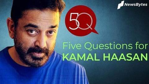 5 questions for (Kabhi)neta Kamal Haasan