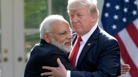Trump greets Modi warmly, says India-US relations never been stronger