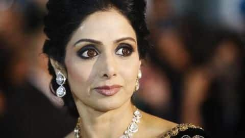 Legendary actor Sridevi passes away, at 54