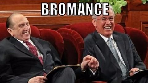 Bromances are here, and with them, happier and healthier men