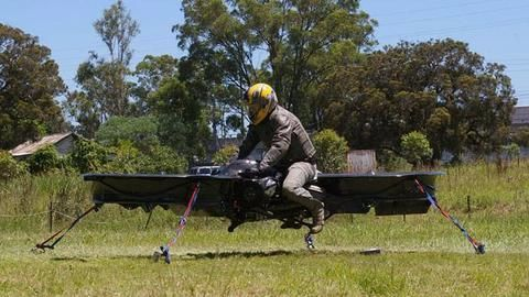 Hoverbikes are here to make your ride easier