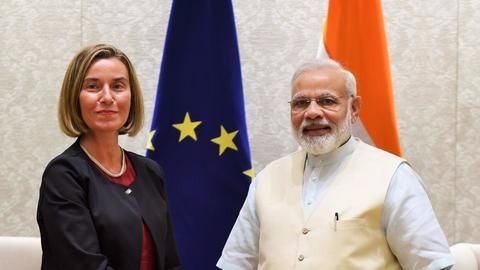 European Union, India strengthen ties; Vow to jointly fight terror