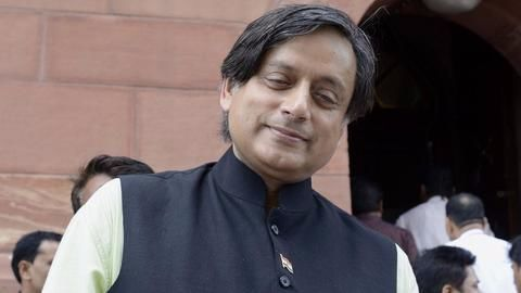 How did Tharoor come into picture?