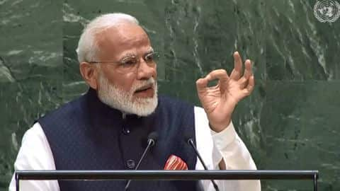 New York: PM Modi addresses United Nations General Assembly (UNGA)