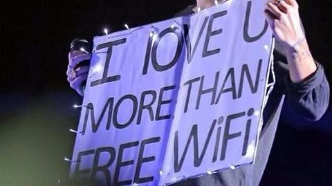 Happiness is free Wi-Fi! But would you risk personal data?