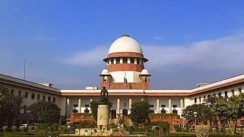 SC benches started hearings at 10:45 AM, 15 minutes late
