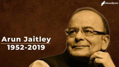 BJP's troubleshooter and stalwart, Arun Jaitley cremated with state honors