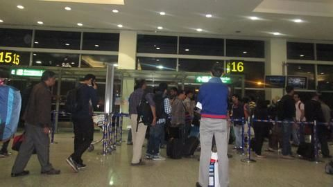 What is security like at the Delhi Airport?