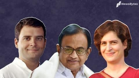 Ahead of SC hearing, Chidambaram visited by Rahul, Priyanka Gandhi