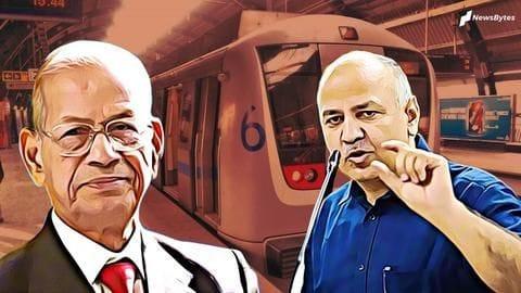 Free rides an election gimmick: Metro Man Sreedharan tells Sisodia